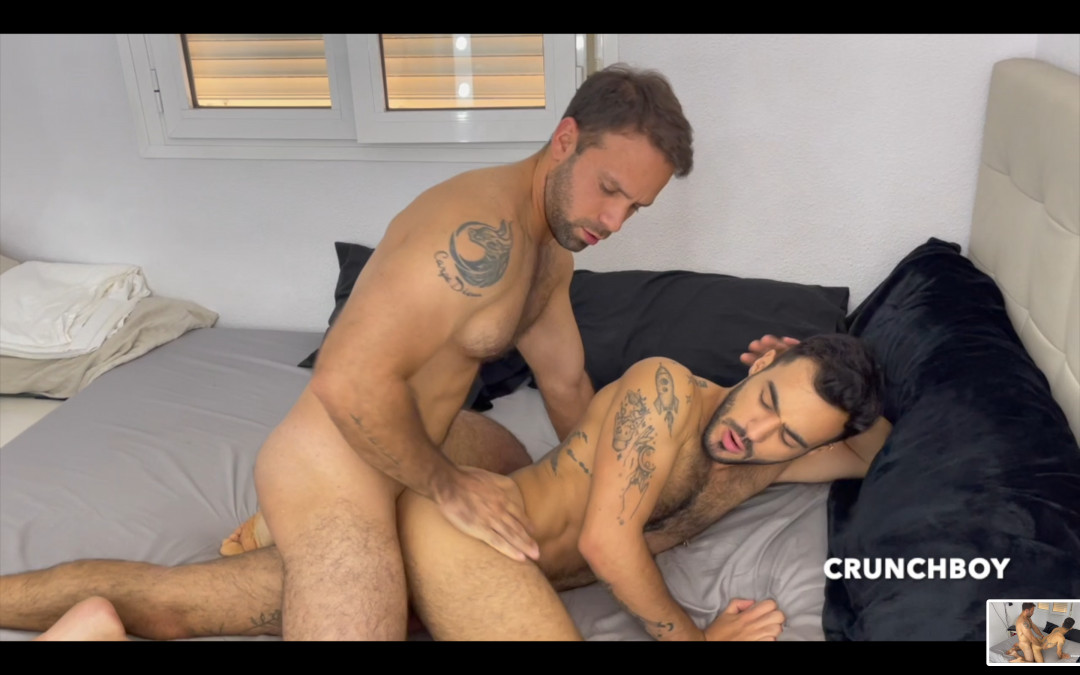 Douglas well stoned by a real straight guy in need of sex