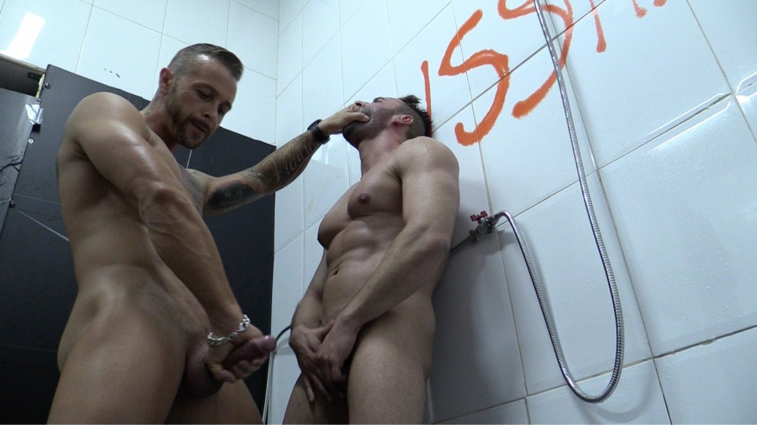 DOMINATED IN THE SHOWER 4