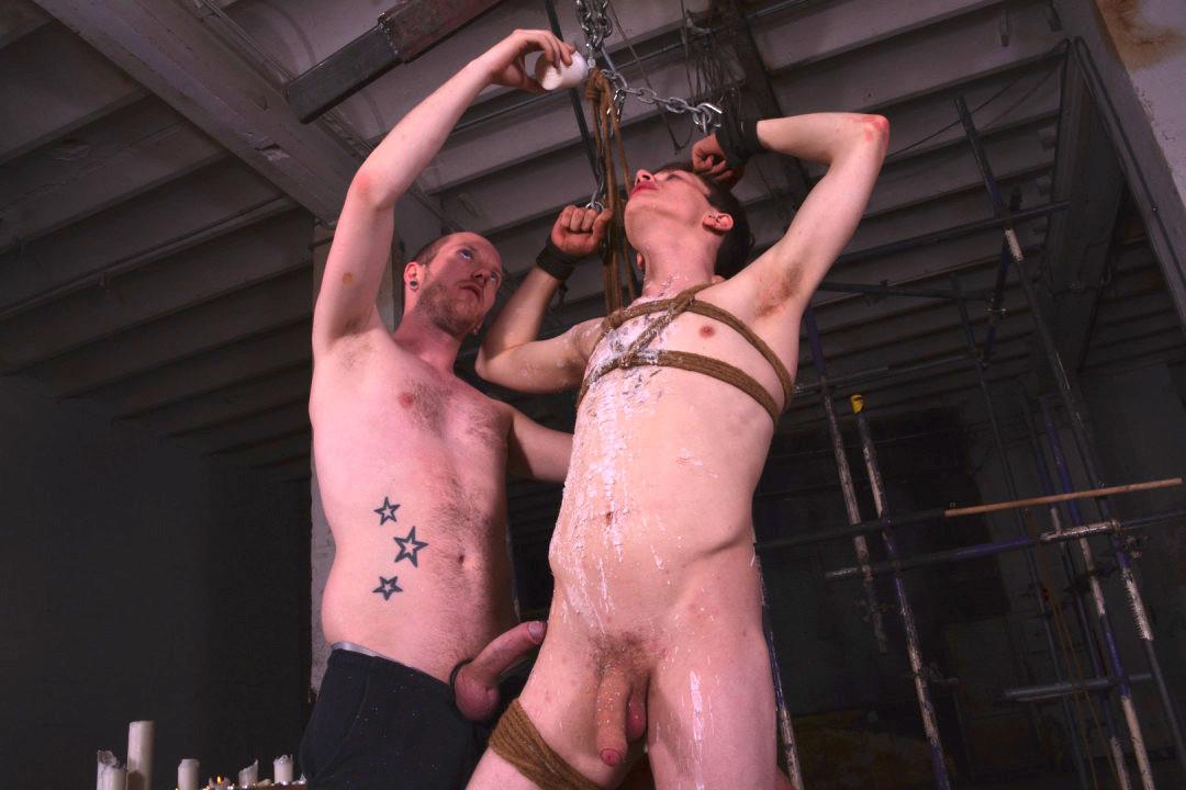 [Boynapped] Burning gay young slut in chastity   Image 001