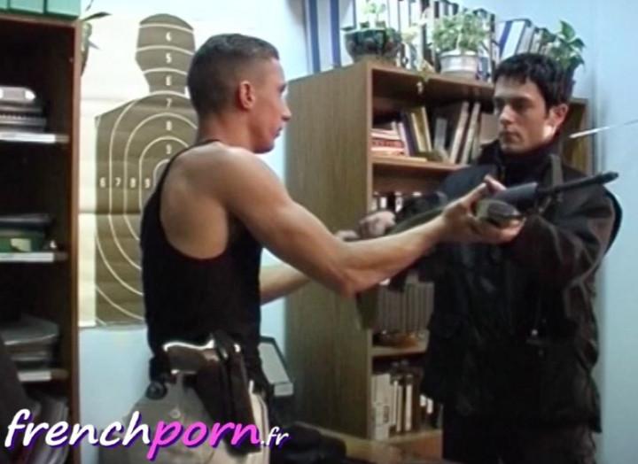 Hung Gay Police Men