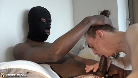 racaille de cite black se fait sucer