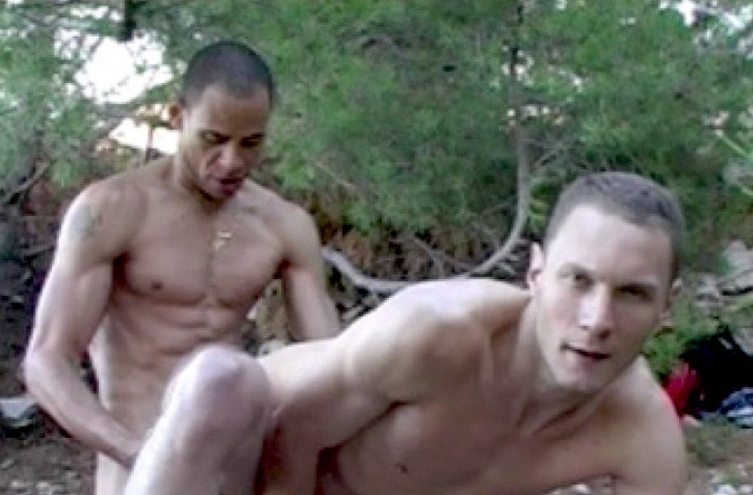 A HARD FUCK UNDER THE TREES