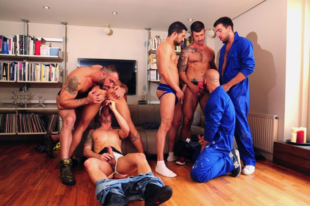 Builders' orgy