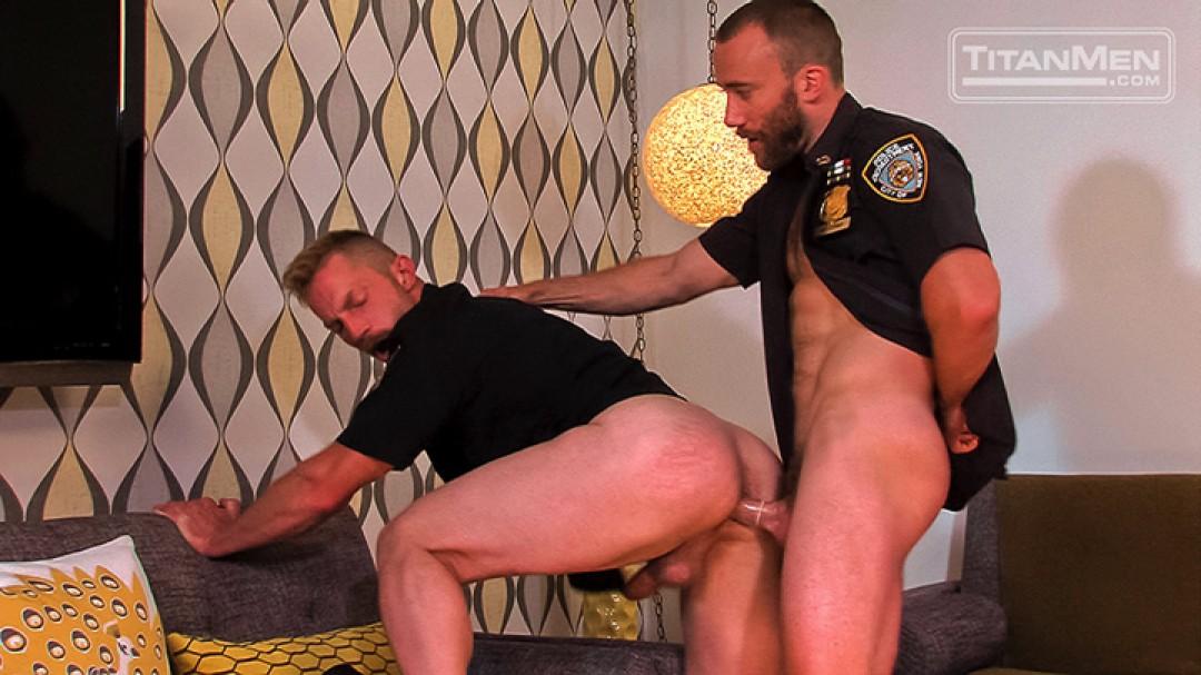A cop's ass