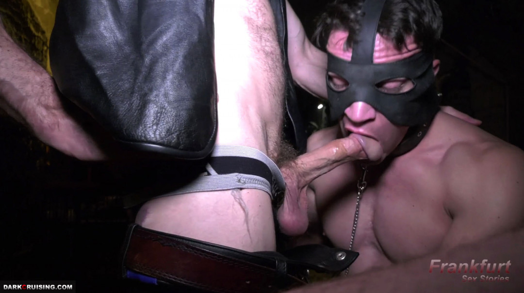 The Dungeon : A gay pig's dream : being dominated by two masters