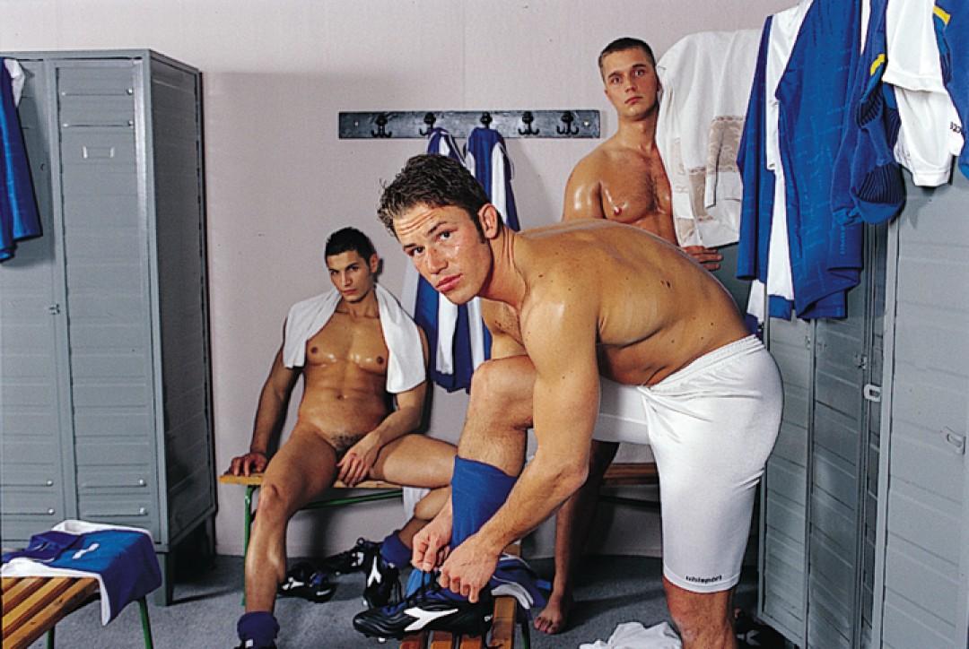 Three loads in the locker-room