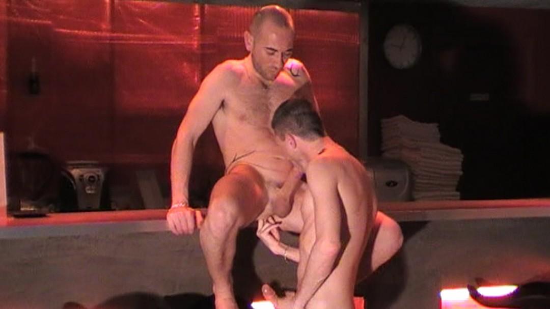 Fuck on sling on sauna 36