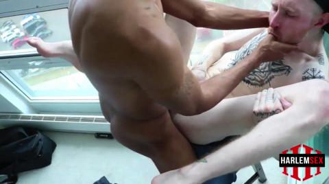 L19163 HARLEMSEX gay sex porn hardcore fuck videos black blowjob deepthroat mouthfuck bj facecum hung young macho lads xxl cocks 13
