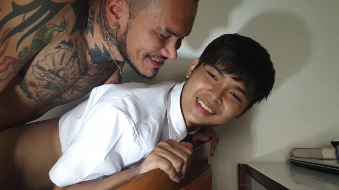 Cute Thai abused by Pervert Teacher