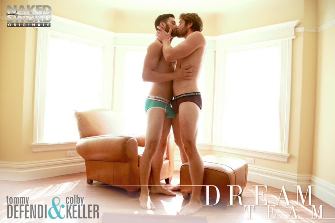 Tommy Defendi and Colby Keller do each-other's ass