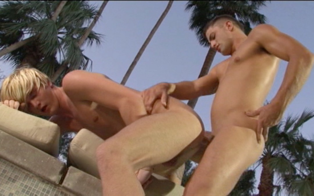 Young men in need of sun and sex