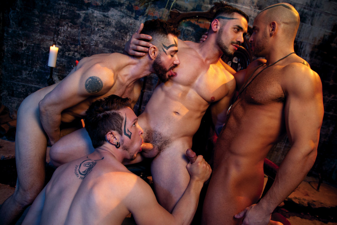Angels of Gay Sex : a foursome