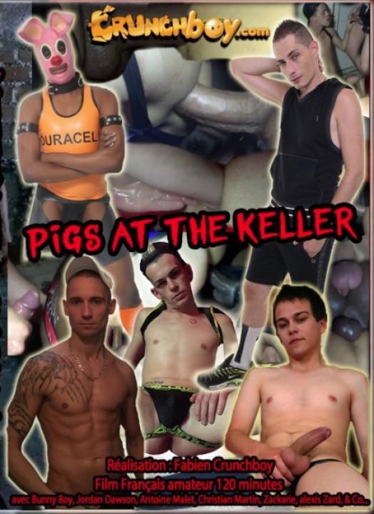 120 pigs at the keller