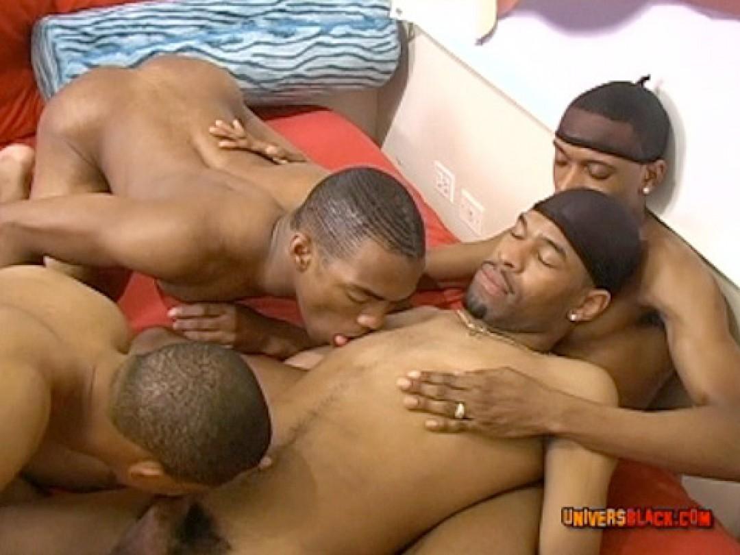 FOUR BLACK BOYS WHIP THEIR CREAM