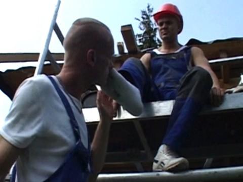 ouvriers de chantier en skets 9