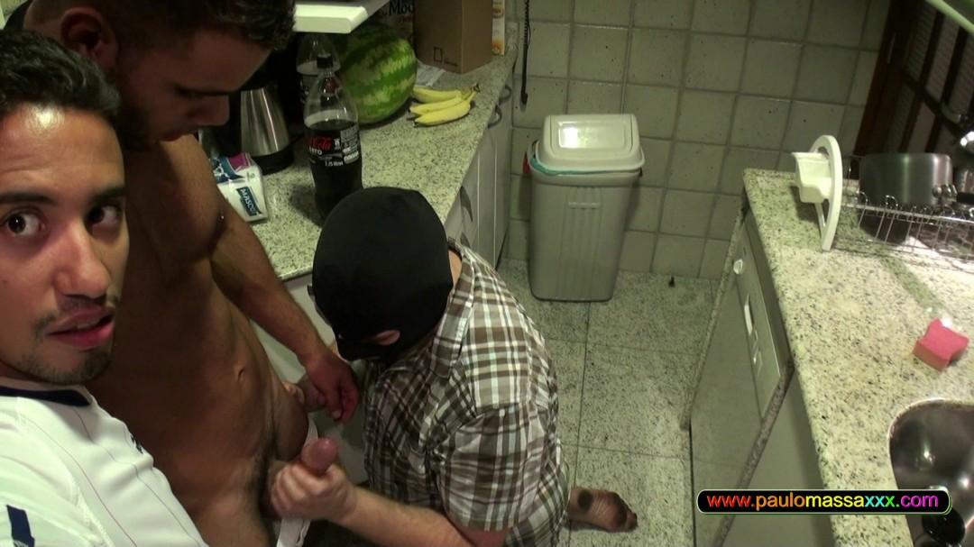Marcello's hard Brazilian dick