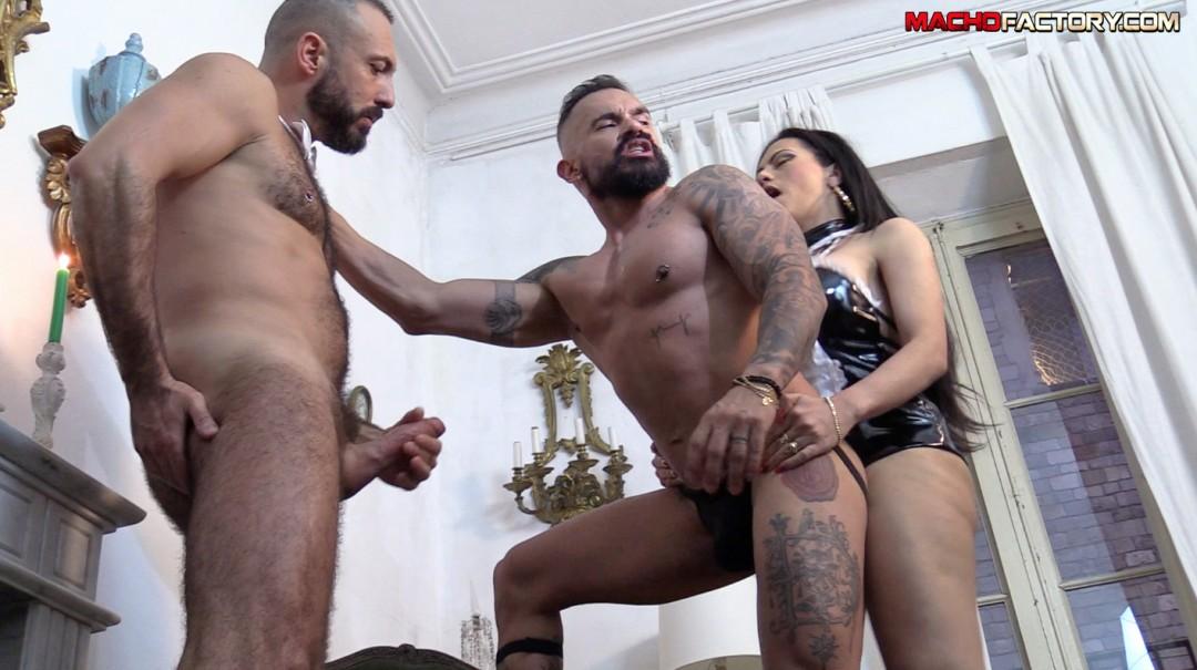 ARISTOFUCKS 2 big dick maid