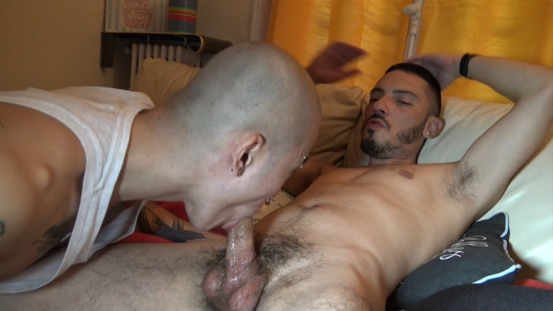Asiat twink fucked bareback by latino
