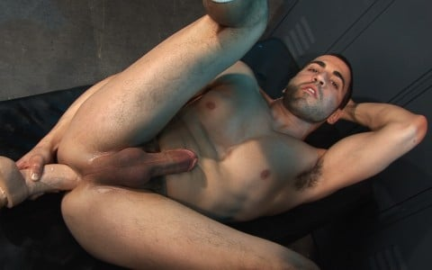 Tommy Joe with dildo in his ass