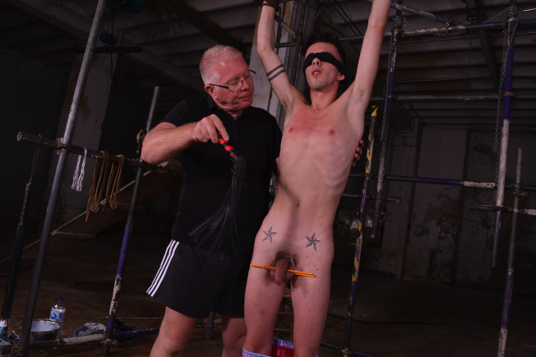 Young Gay Stud Slave Training