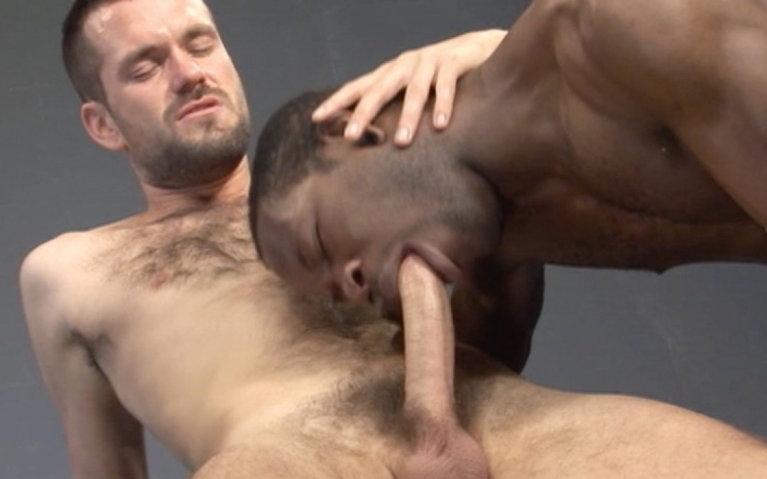 Handsome bottom black for a hairy white guy