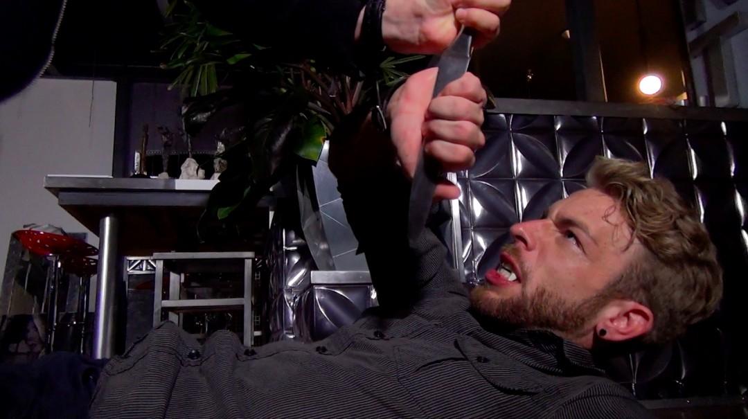 Doryann victim of Gabriel and Thiago vampires fate artillery - Blood Brothers - Scene 4