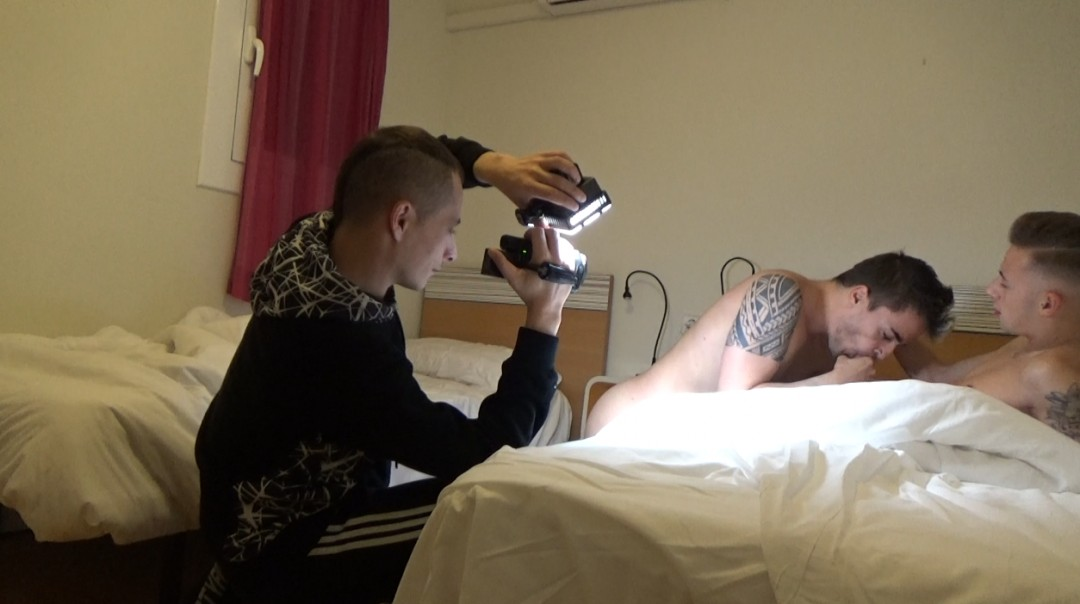 Webcam backstage avec Kevin LAUREN et David SKY