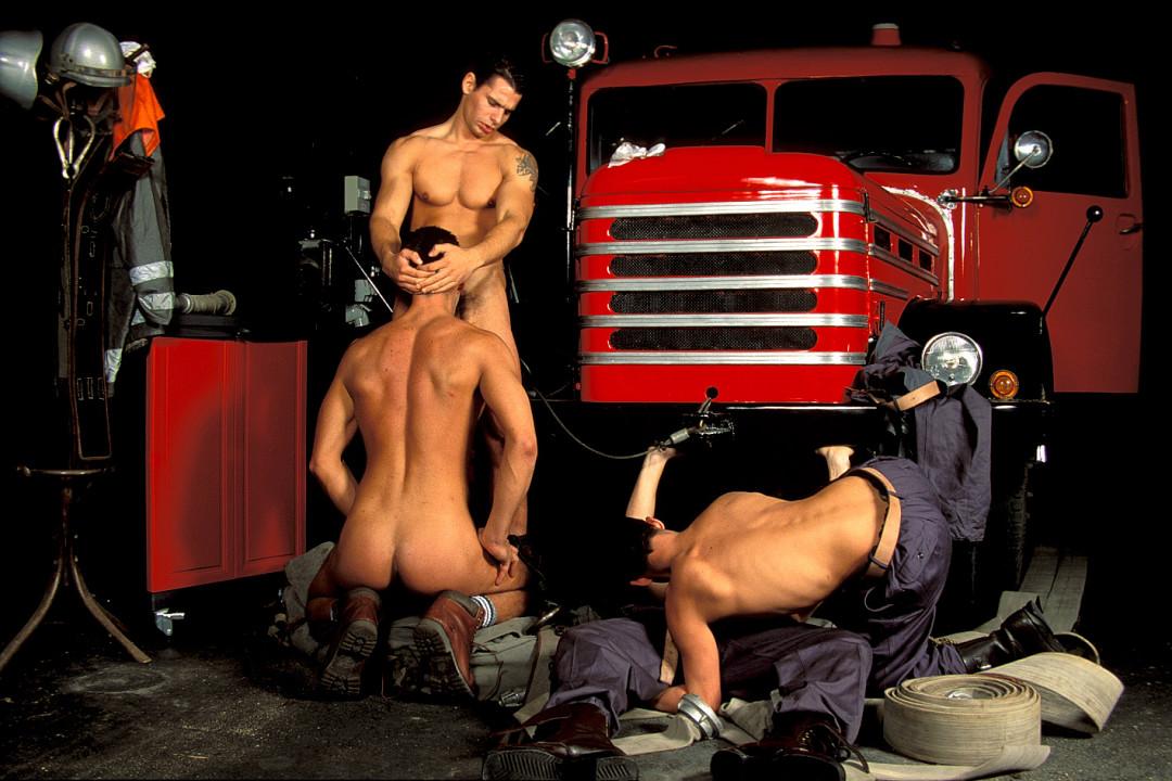 Titof, le pompier en service