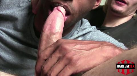 L19184 HARLEMSEX gay sex porn hardcore fuck videos black blowjob deepthroat mouthfuck bj facecum hung young macho lads xxl cocks 05