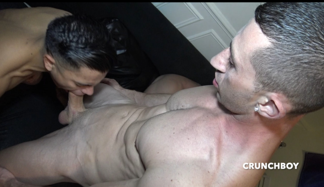 The beautiful latino LEX VARGAS dosed by TOMMY young military