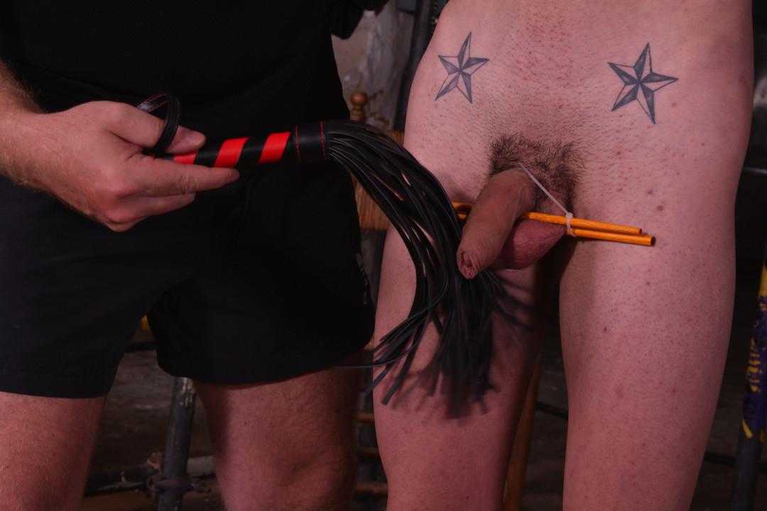 年轻的男同性恋者的奴隶训练