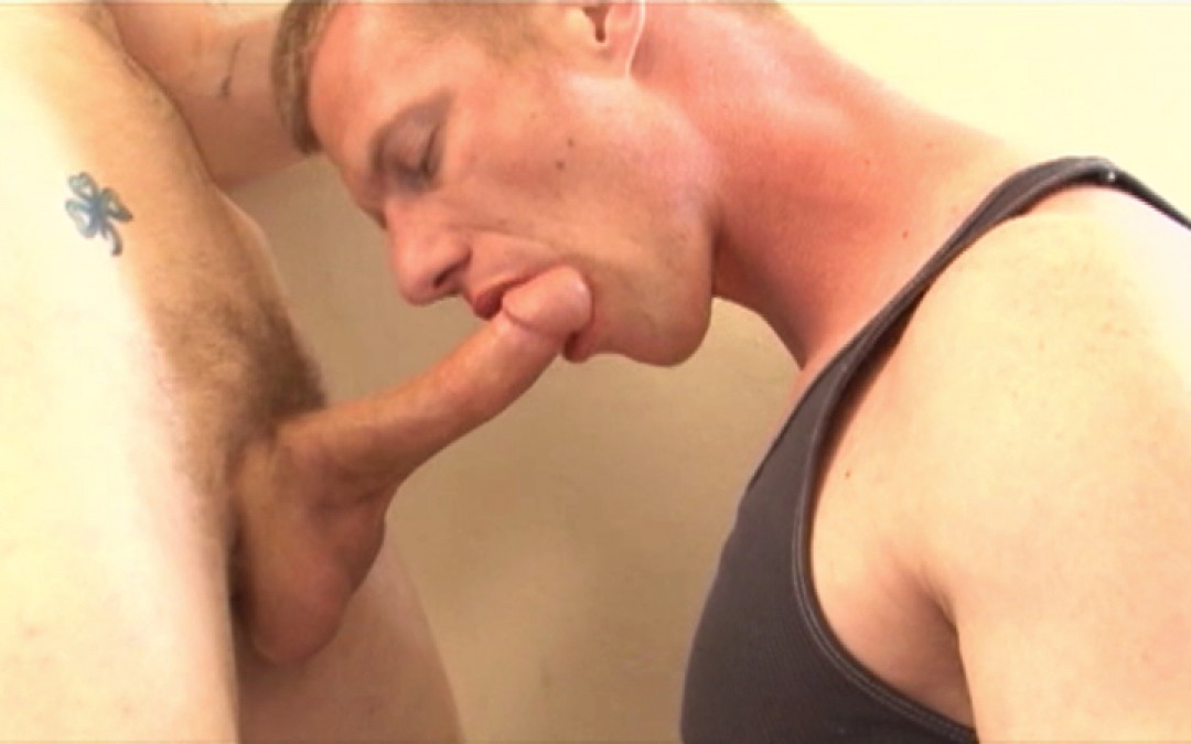 Young blond's ass filled with cock