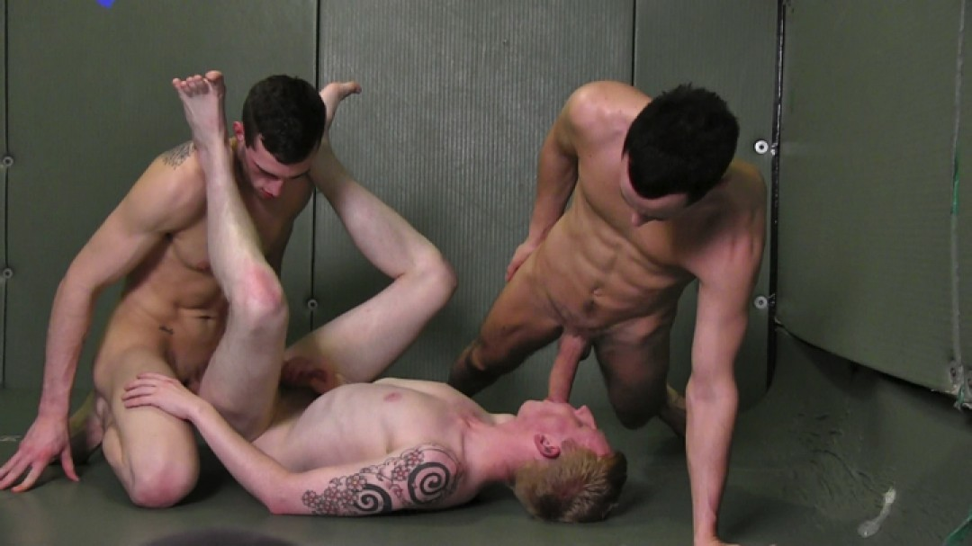 Close Contact Sports Ends In XXL Threesome