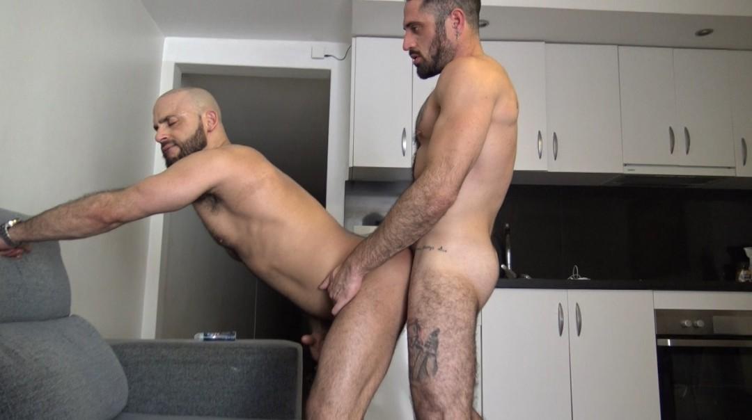 Bareback orgia in barcelone with muscle pornstars