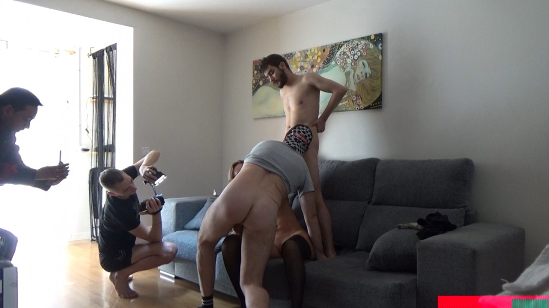 Straight fuck a shemale and a gay by surprise  Funny Clip !!!