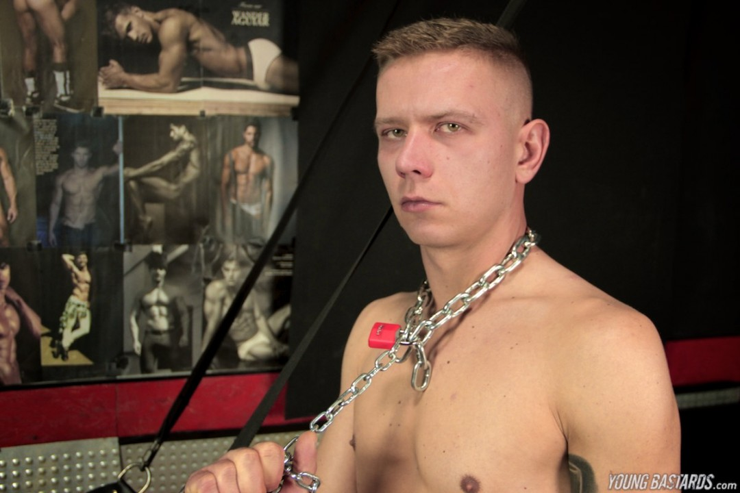 Oscar is a victim of the sex toy dungeon