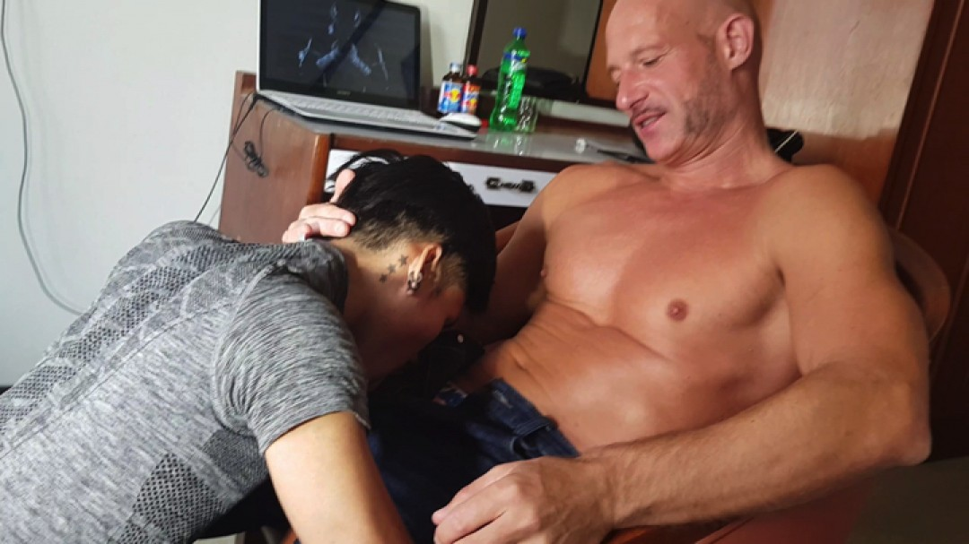 Daddy raw cock