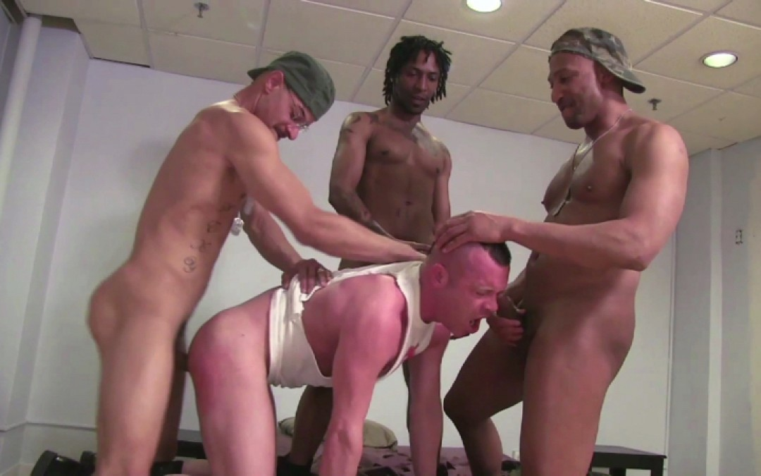 3 army cocks and 1 hole