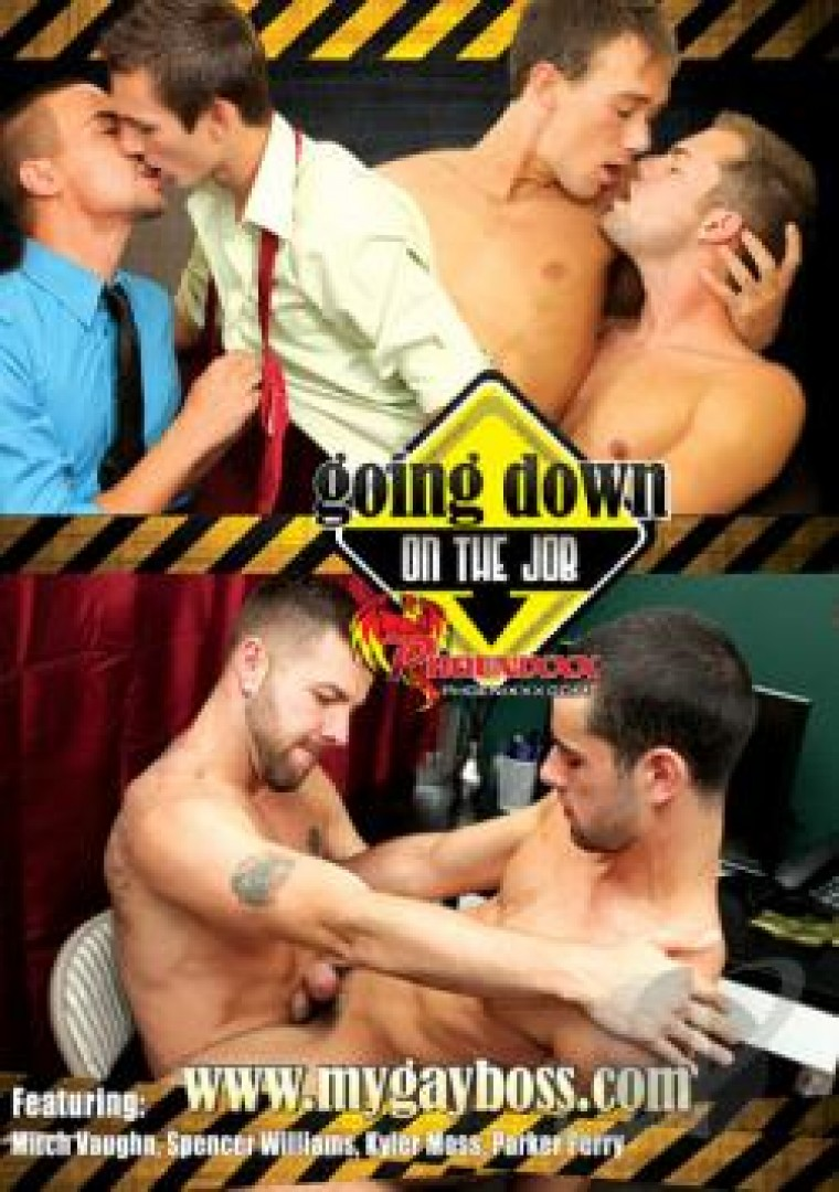 My gay boss 04 - Going down on the job