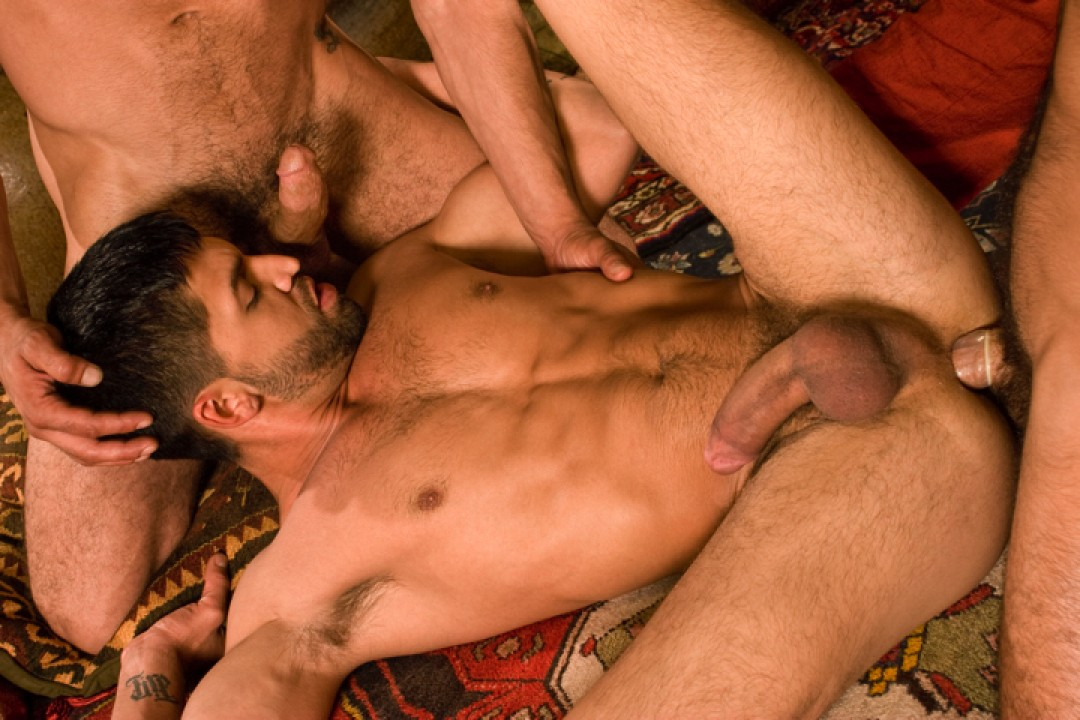 Arab prince and his sex servants