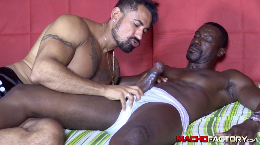 Hungry black dick for a breakfast