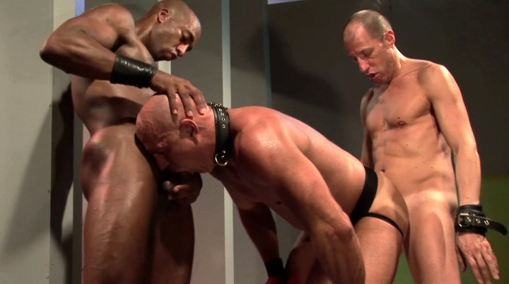 Now gay slave, you will learn to fuck another gay slut