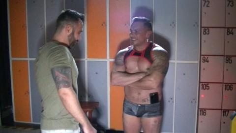 SANTI NOGUERA défonce le cul de MARITN MAZZA at the RING PRIVATE club Madrid