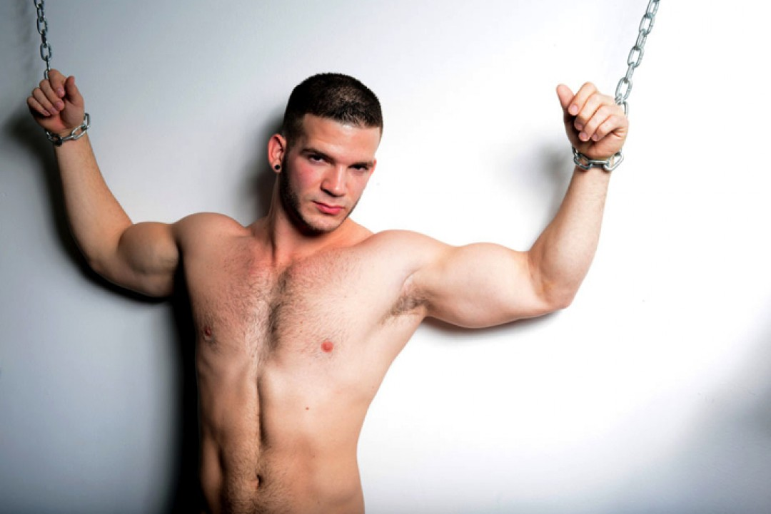 young muscle studs cum