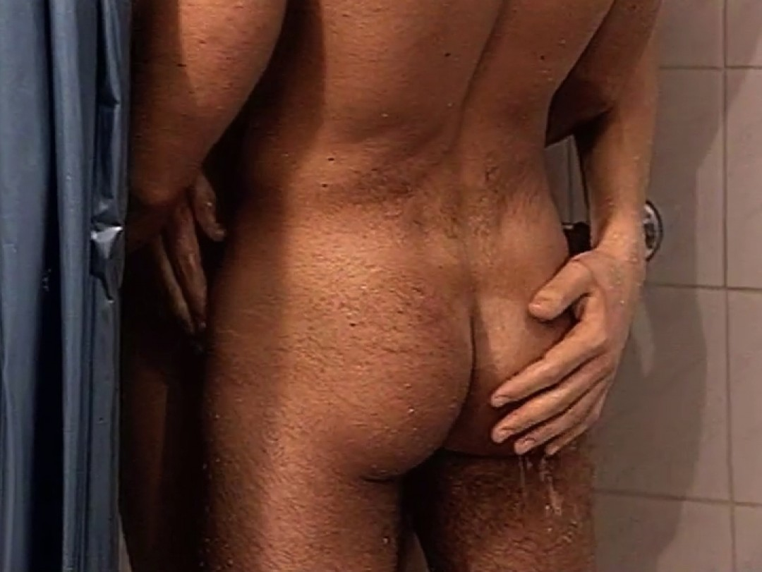 Naughty twinks in the showers