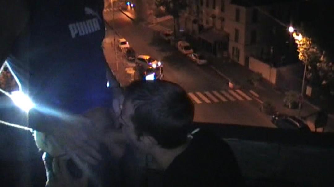 Exhib sur le toit d'un hotel parisien