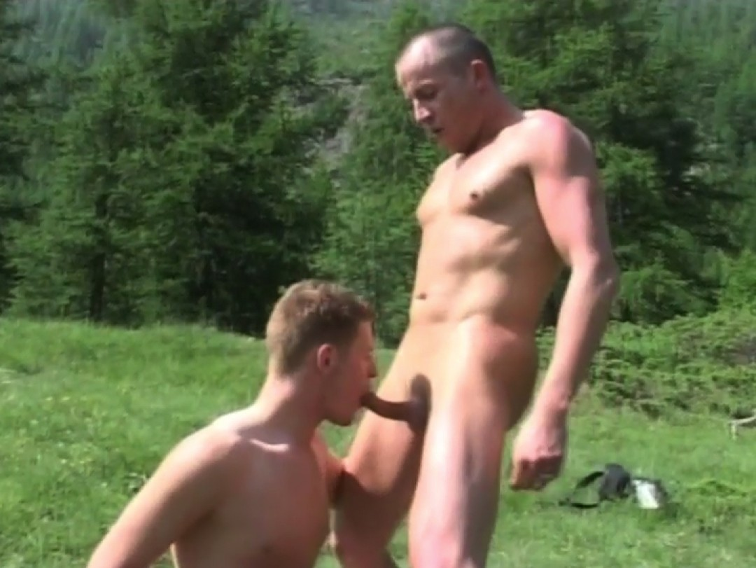Outdoors orgy