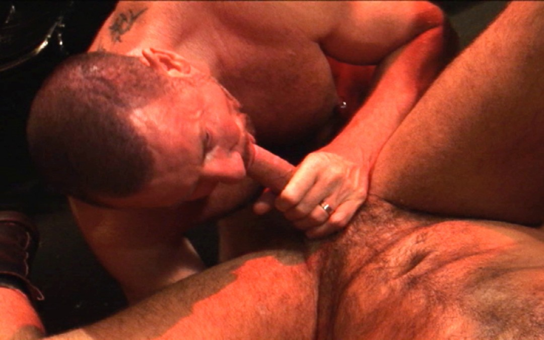 Big, hairy and hung for Trojan Rock