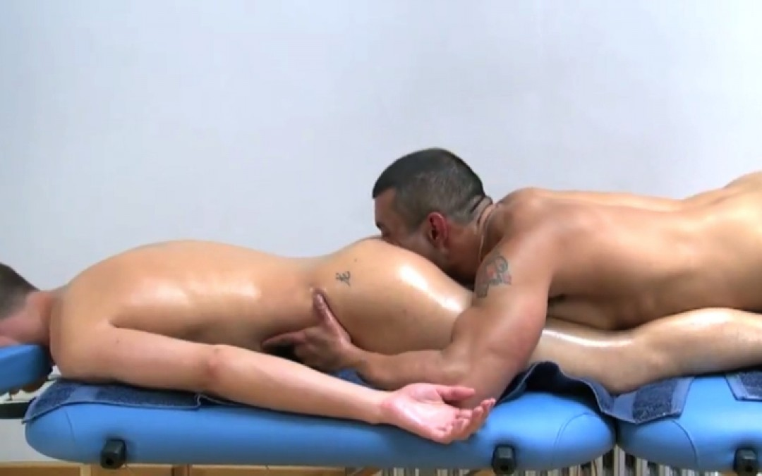 Full body and ass massage