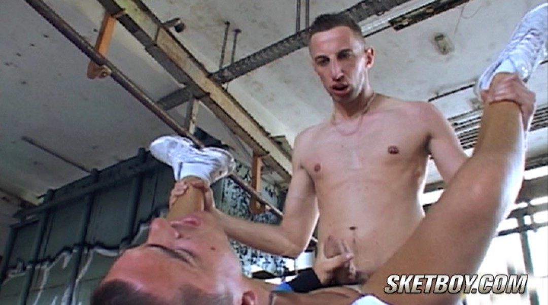 Slipping away to get his hungry ass stuffed with bro dick